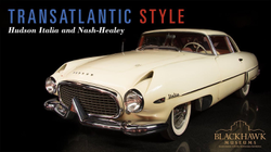 Donald Osborne speaking about the                               Hudson Italia                              ​ and                               Nash-Healey                              ​ which were both covered in his book, '                               Stile Transatlantico/ Transatlantic Style: A Romance of Chrome & Fins                              '