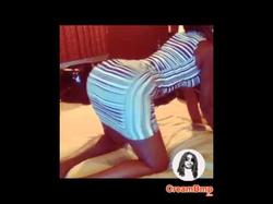 Juju twerking on Cam'ron's bed