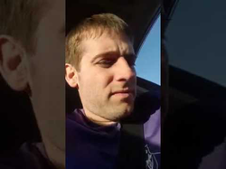 A video of Jesse Bright talking to his passenger and a police officer before his passenger gets searched. (He's under suspicion that they were leaving a drug house.)