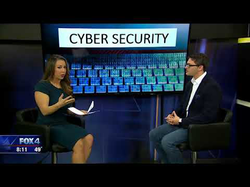 Andrew Rossow speaks with Dallas FOX4, Jenny Anchondo, on cyber-security tips for the holiday season