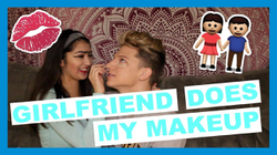 GIRLFRIEND DOES MY MAKEUP | Conner Bobay