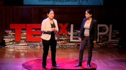 """The CyberCode Twin's  Ted Talk  : """"The Hackathon Effect"""" (September 2015)"""