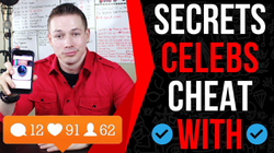 How To Get Famous On Instagram FAST! (Secret Cheats Celebs Use)