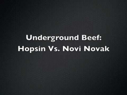 History of beef between Novi Novak and                               Hopsin                              ​