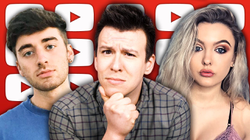 Philip DeFranco                              ​ talking about Carmie Sellitto's viral video