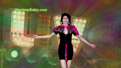 One of Nasim Aghdam's videos uploaded on Facebook (with chickens)