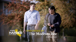 Harder Trust campaign ad