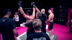 Ahmed Samir First MMA Victory
