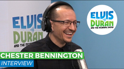 """Chester Bennington Chats with                                 Elvis Duran                                on the                                                   Elvis Duran Show                                                  About                                 Linkin Park                                's Single """"Heavy"""""""
