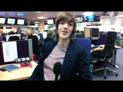 C4 Jobs Report: My first job by Anna Doble from C4 News website