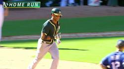 Khris Davis's 40th home run