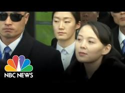 Kim Yo-Jong at the Olympics.