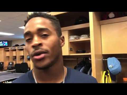 "Mallex Smith discusses what constitutes ""the perfect bunt"""