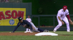 Mallex Smith's first stolen base of his Major League career