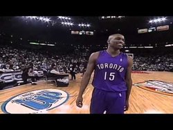 All of Vince Carter's dunks at the                               Slam Dunk contest