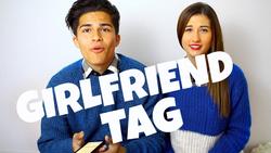 Alex Aiono's Girlfriend Tag video (w/                               Meg DeAngelis                              )