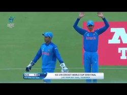 Talented Indian U19 side including                               Prithvi Shaw                              ,​                               Manjot Kalra                              ​,                               Shubman Gill                              ​,                               Anukul Roy                              ​ and                               Kamlesh Nagarkoti                              ​ beat Australia in World Cup Final