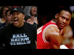 Lavar Ball compared to                               Michael Jordan                              .