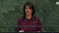 Nikki Haley threatening to cut funding to the U.N.