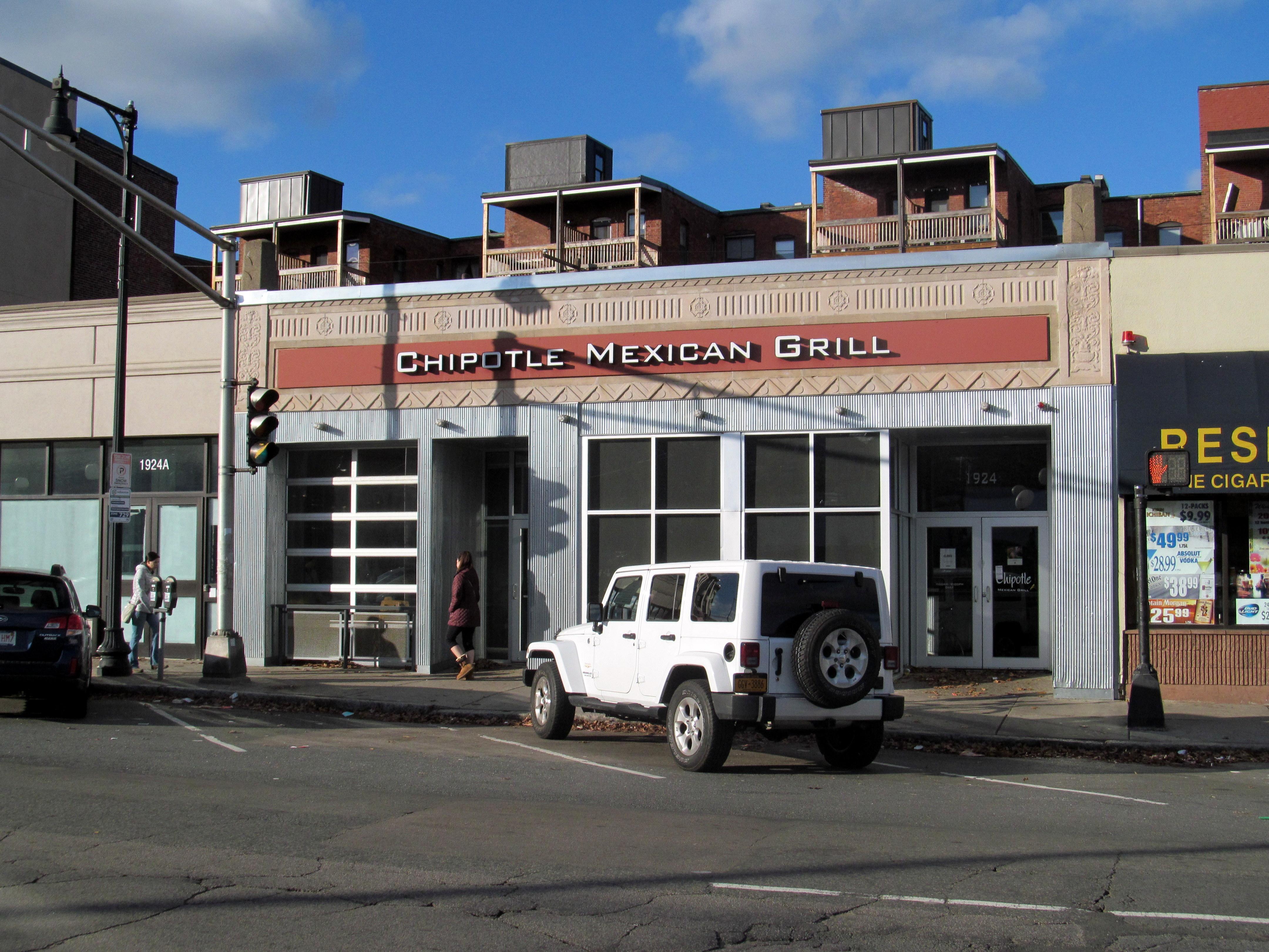 The closed restaurant on December 16, 2015