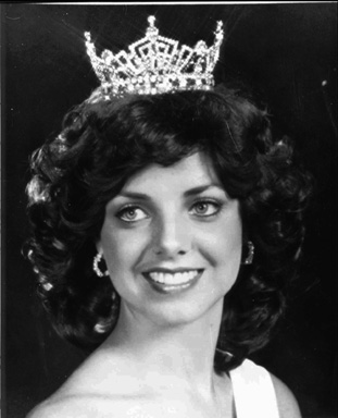 Patsy Ramsey in 1977. She was Miss West Virginia that year.