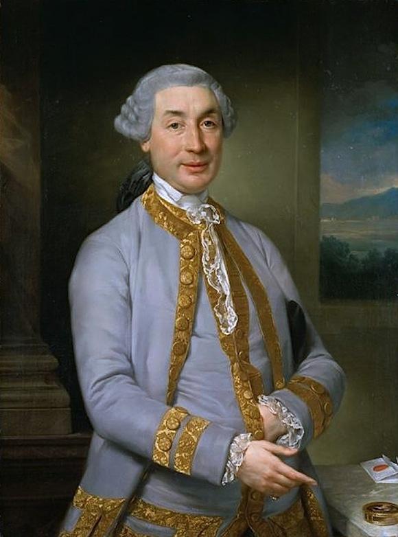Napoleon's father Carlo Buonaparte was Corsica's representative to the court of Louis XVI of France.