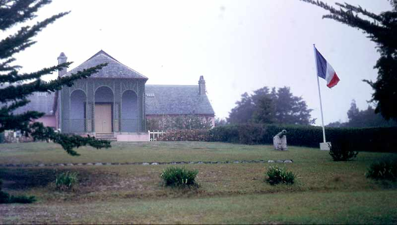 Longwood House, Saint Helena: site of Napoleon's captivity
