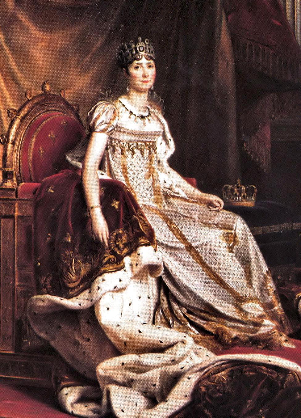 Napoleon's first wife, Joséphine