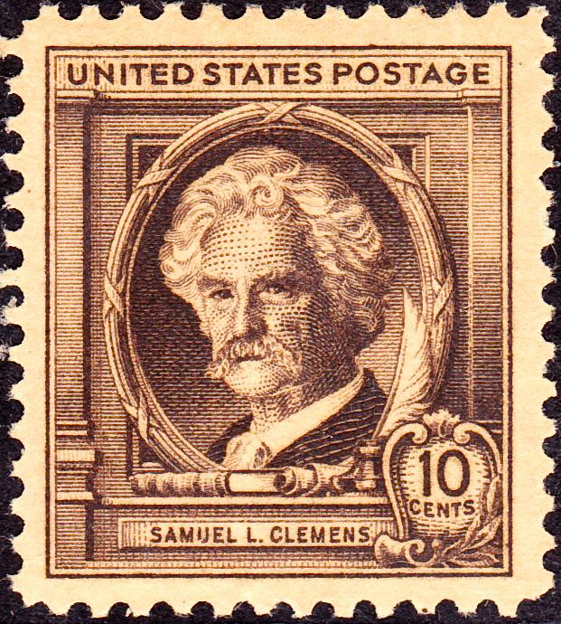 Samuel L. Clemens stamp, 1940