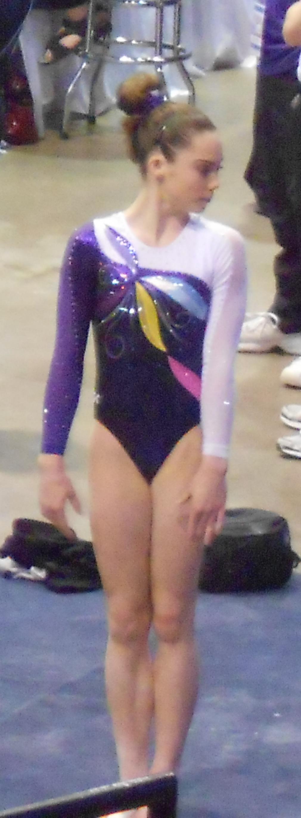 Maroney at the 2012 Secret U.S. Classic
