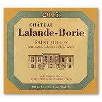 2005 Chateau Lalande Borie