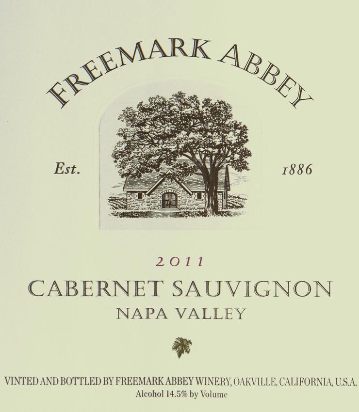 2011 Freemark Abbey Cabernet Sauvignon