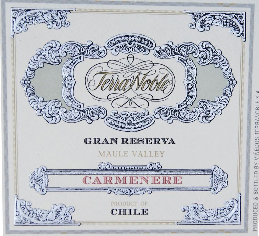 2011 Terranoble Carmenere Grand Reserva