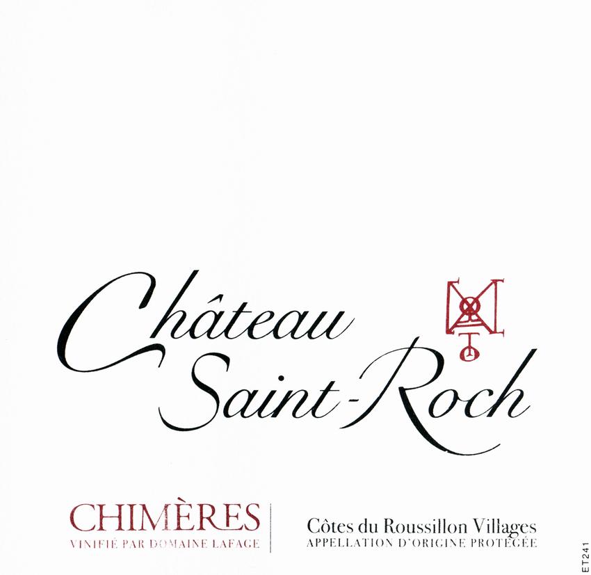 2012 Saint Roch Chimeres Cotes Du Roussillon