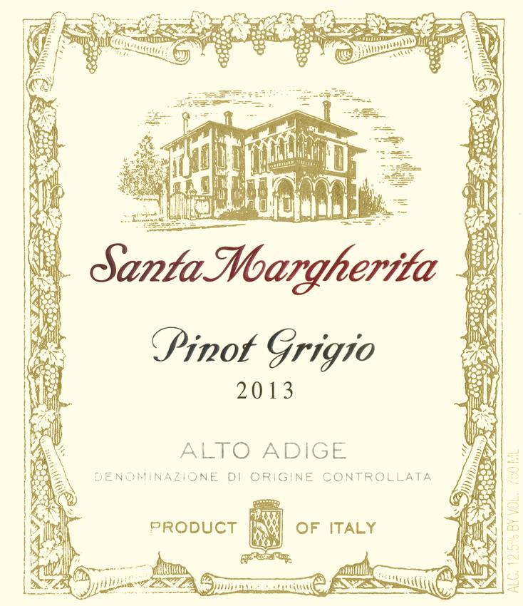 2013 Santa Margherita Pinot Grigio