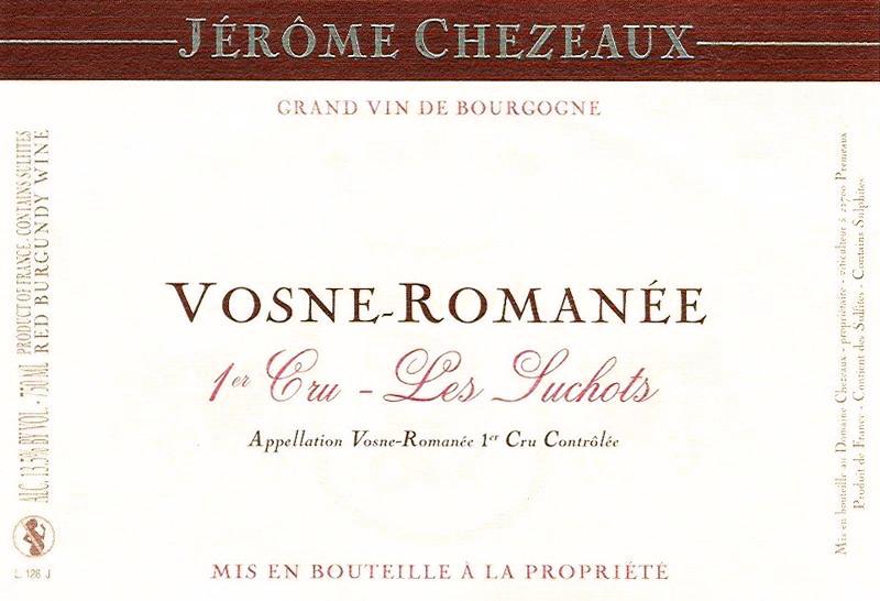 2011 Jerome Chezeaux Chaumes Vosne Romanee
