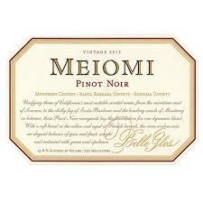 2012 Belle Glos Meiomi Pinot Noir