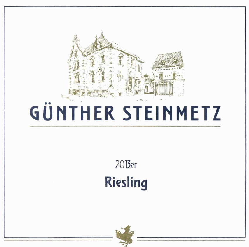 2013 Gunther Steinmetz Riesling