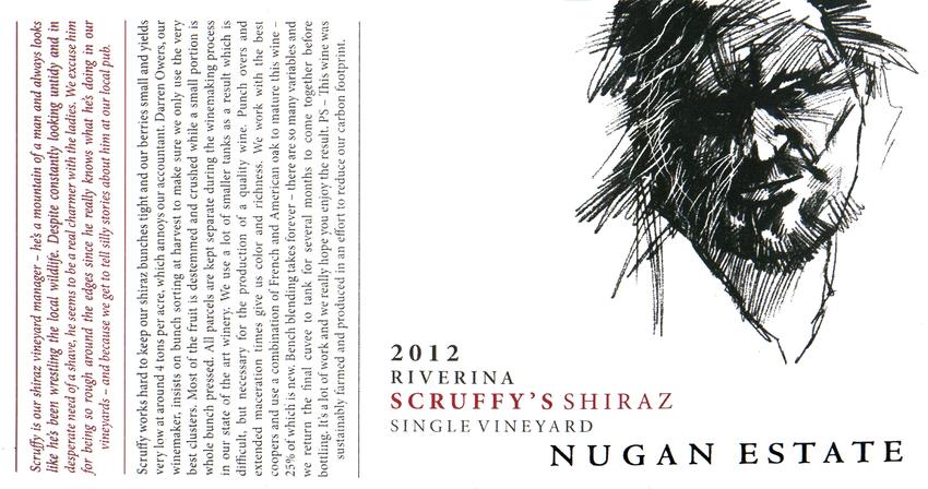2012 Nugan Estate Scruffy's Shiraz