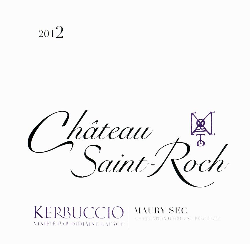 2012 Saint Roch Kerbuccio Maury Rouge Sec