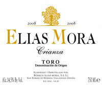 2008 Elias Mora Toro Crianza