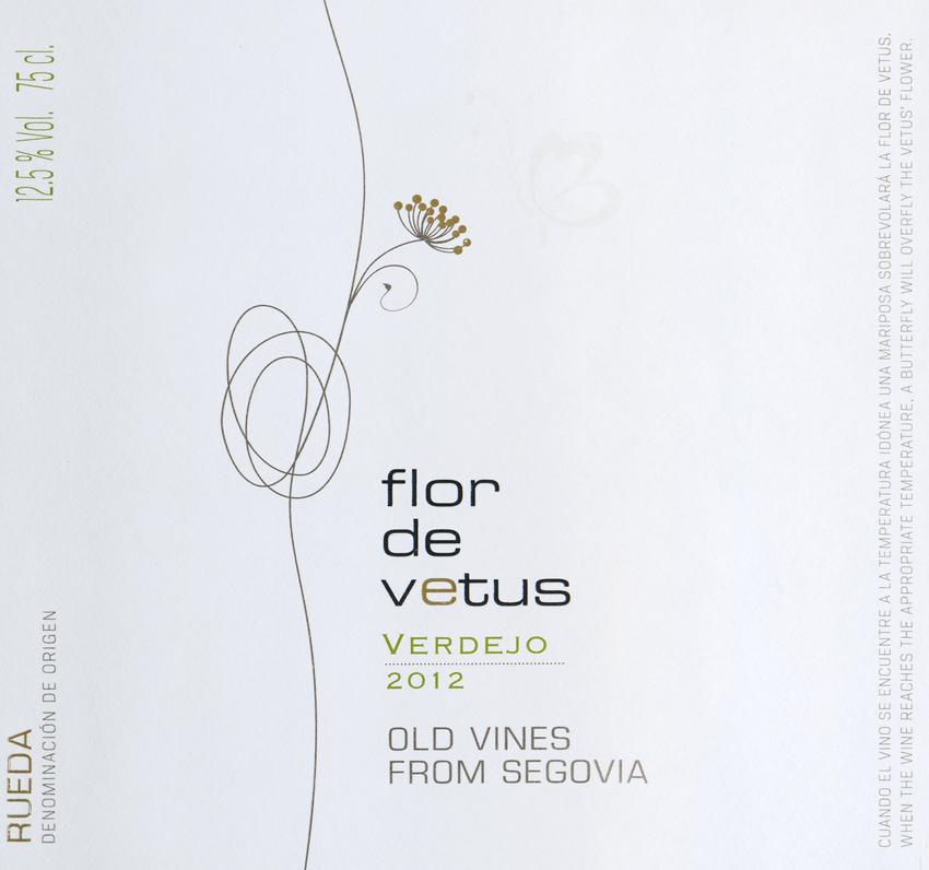 2012 Artevino Flor De Vetus Segovia Rueda