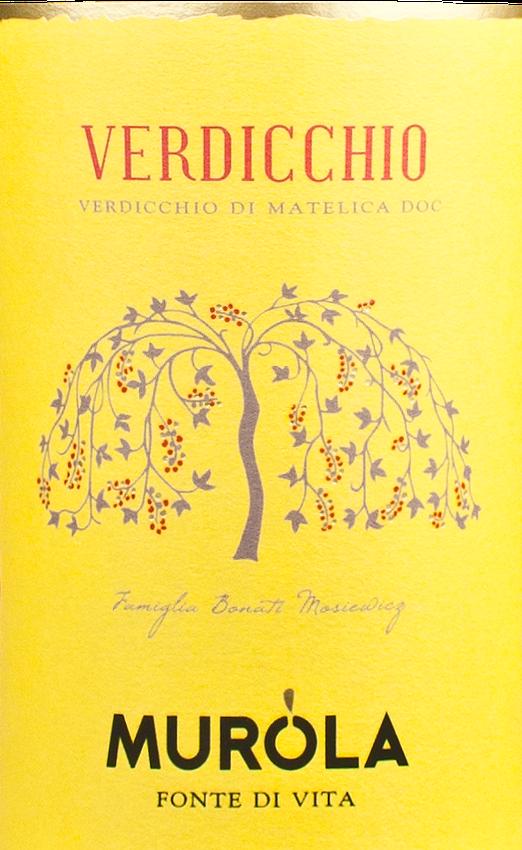 2012 Murola Verdicchio