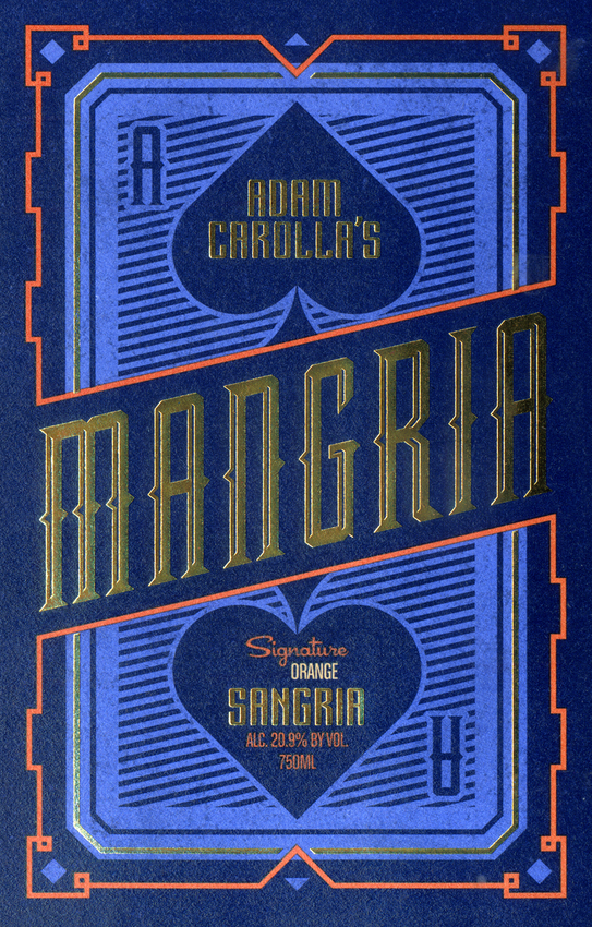 Adam Carolla's Signatureoriginal Orange Mangria