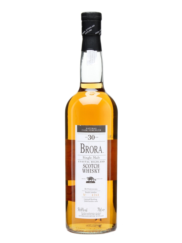 Brora 30 Year Old 3rd Release Bot.2004