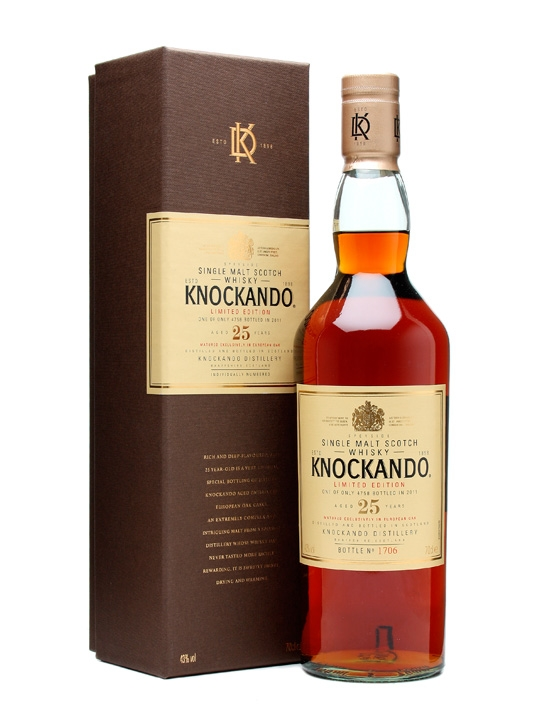 Knockando 25 Year Old Special Releases Bot.2011