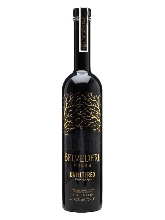 Belvedere Unfiltered Vodka Diamond Rye