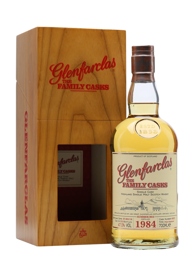 Glenfarclas 1984 Family Casks S14 Cask #6032