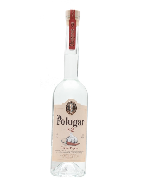 Polugar No.2 Garlic & Pepper Vodka