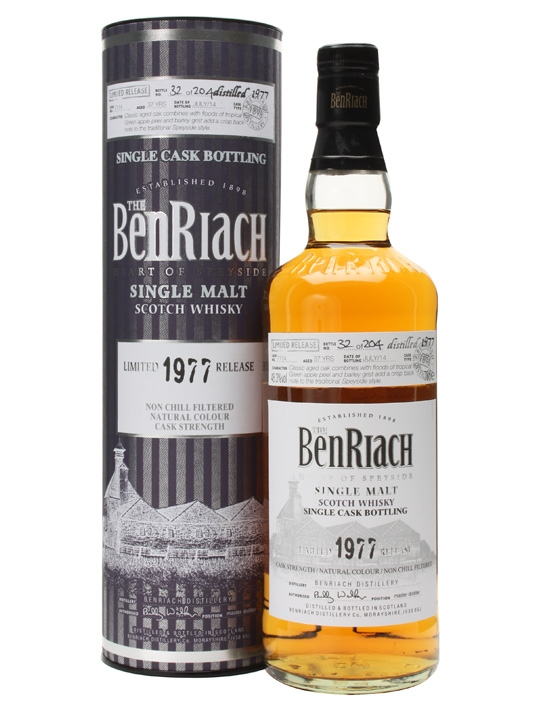 Benriach 1977 37 Year Old Cask #7114